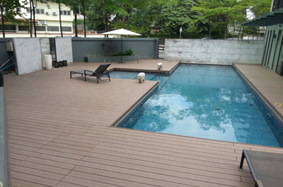 Composite Wood Deck Residential